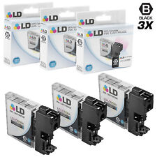 LD © for Brother LC-65 LC65 3pk HY Black MFC 5890CN 5895CW 6490CW 6890CDW