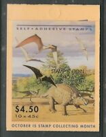 Australia Exhibition Booklet 1993 Dinosaurs Sydney Stamp Show *Special Face Valu