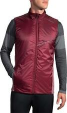 NWT $110 Brooks Running LSD Thermal Vest in Root sz S