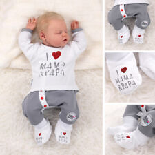 Baby Sweets Schuhe weiß I Love Mama & Papa