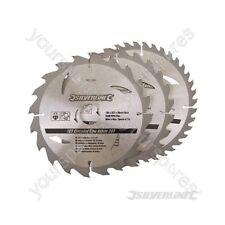 Hojas De Sierra Circular TCT 20, 24, 40T 3pk - 184 X 30 Anillos - 20, 16mm