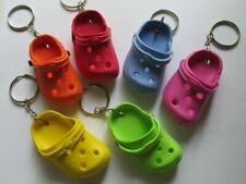 1 Crocs Keychain croc Shoe Keychain clog sandal Party Favors key chains Cute