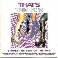 THAT'S THE 70'S various (2x CD, Compilation) Classic Rock, Pop Rock, Soul, Disco