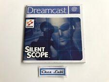 Notice - Silent Scope - Sega Dreamcast - PAL FR