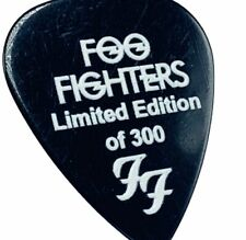Foo Fighters Guitar Pick concert memorabilia Taylor Hawkins limited edition 300