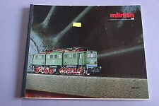 X246 MARKLIN Train catalogueHo 1986 1987 162 pages 26,5*22 cm F