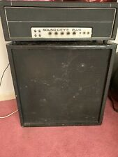 More details for ✅ sound city  valve....50 plus  amp head and cab....