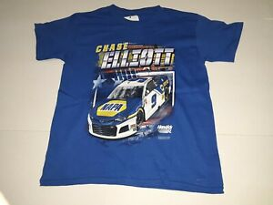 Chase Elliott # 9 Blue One Sided Youth Shirt, Small