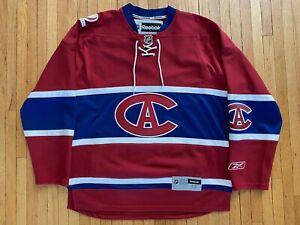 RARE NWOT Montreal Canadiens 1915-16 Centennial 2009 Jersey! Reebok! Medium!