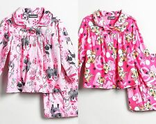 JOE BOXER Flame Resistant Girl Dog Kitty Cat 2PC Sleepwear Pajamas Set 3T 4T NWT