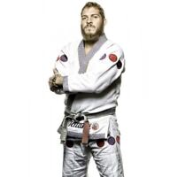 Tatami Mike Fowler Signature BJJ Gi Adult White Brazilian Jiu Jitsu Kimono Suit