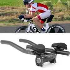 Cn _ 1 Par Bicicleta Bici Triatlón Aero Reposo Barra Manija Manillar con Clip T