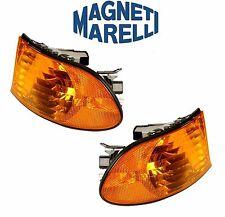 For BMW E38 740i 740iL Set of 2 Front Turn Signal Assemblys Magneti Marelli
