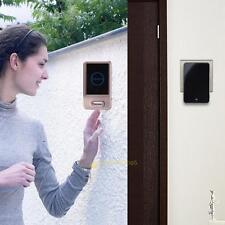 LCD Screen Doorbell Intercom Music Jingle Bell (25-110dB) Plug-in wireless