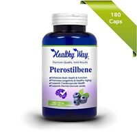 Max Strength Pterostilbene - 150 mg 180 capsules 150 mg 180 capsules NON-GMO