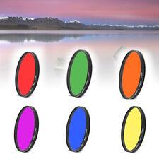 55 58 62 67 72 77 82mm Full Color Lens Filter For DSLR SLR Nikon Canon Camera