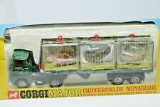 CORGI TOYS 1139 *  SCAMMELL HANDYMAN CHIPPERFIELDS MENAGERIE * OVP * 1968