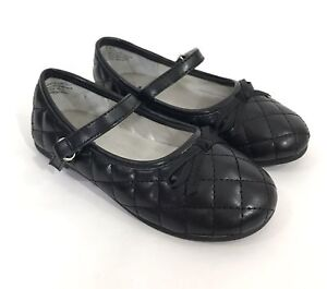New Toddler Jumping Beans Lil Rylen Mary Janes Style 125624 Black 79C pr
