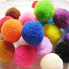 20 pcs Soft Cat Toy Plush Balls Kitten Toys Colorful Ball Play Scratch Catch H