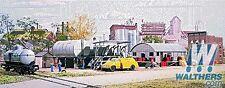 Sealed NIB Walters Cornerstone HO Building KIT Interstate Fuel & Oil #933-3006