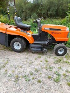 "Husqvarna CT151 Ride on mower 15hp 36"" cut with grass collector & mulching plug"