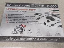 NOS iMC Motorcom Hands Free Set Full Face Helmet HS-510