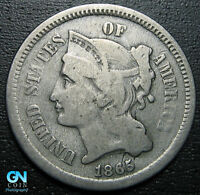 1865 3 Cent Nickel Piece  --  MAKE US AN OFFER!  #G5407