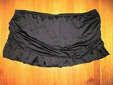 Apt. 9 Plus Size 20W Black Skirted Swim Attached Bottoms NWT