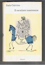 Italo Calvino - IL CAVALIERE INESISTENTE (The Non-Existent Knight) - Italian HB