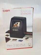 ION Film 2 SD Plus Diapositive et Négatif Scanner (nouveau-boxed) 165783/124