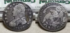 1832 Silver Capped Bust Half Dollar 50c