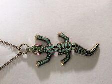 Betsey Johnson  Alligator Necklace   $45  BG8