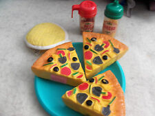 Play Food Pizza Toy Lot