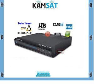 DEKODER NBOX BSLA BZZB 5800SX ENIGMA 2 RECORDER HDD 250GB TWIN TUNER LINUX NBOX