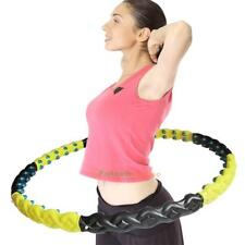 Detachable Massage Balls Magnetic Health Hoola Hula Hoop Weight Fitness Exercise