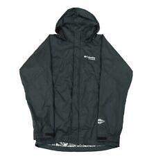 COLUMBIA Titanium Omni-Tech Hooded Waterproof Jacket | Wind Rain Anorak Cagoule