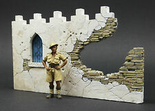 DioDump DD005 Broken wall section `Tobruk' 1:35 scale resin diorama accessory