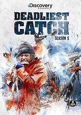 Deadliest Catch ~ Complete 5th Fifth Season 5 Five ~ BRAND NEW DVD SET