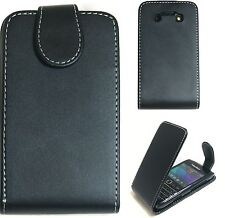 Extra Fine Leather Protective Flip Case Cover  For BlackBerry BB 9790 Bold