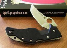 SPYDERCO New Diaconescu Design Battlestation Plain Edge VG-10 Blade Knife/Knives
