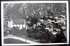 Switzerland~Schweiz~1900s STALDEN Valais~Perrochet RPPC