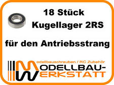 KUGELLAGER-SET Kyosho Inferno MP777 MP7.5 ST-RR ST-R VE GT 18 Stück bearing set