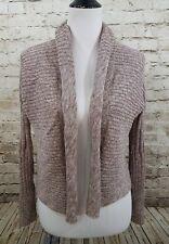 Peruvian Connection Cardigan Sweater Bolero Small Pima Cotton Long Sleeve