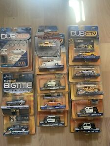Jada Toys lot D-Rod$ big time muscle rollin on dubs model Mustang Camaro