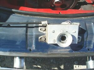 VW KARMANN GHIA 1968-1974 REAR HOOD LOCK/DECK LID LATCH/RECEIVER, ALSO 1956-1967