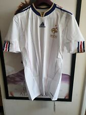 France National Football Team 2009 Player Issue Techfit Shirt Adidas Bnwt - L