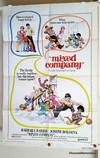 MIXED COMPANY 1974 Original US 1 sheet cinema drama movie poster 74/256