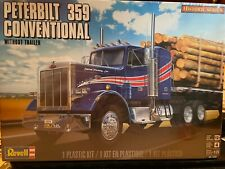 Revell - Peterbilt 359 Conventional Tractor - 1/25 - Factory Sealed Calypso