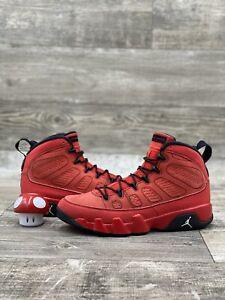2012 Nike Air Jordan 9 IX Retro Motorboat Jones Red Black White 8.5 302370-645