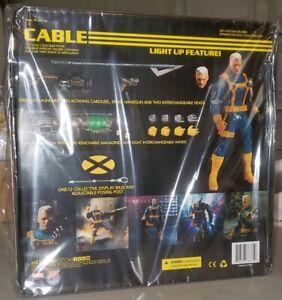 NIB USA! Mezco One:12 Collective Marvel X-Men Cable 1/12 Scale Action Figure PX